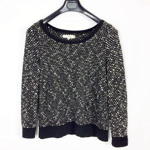 LOFT Loose Knit Crew/Scoop Neck Sweater Top Large